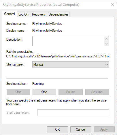 windows jetty service